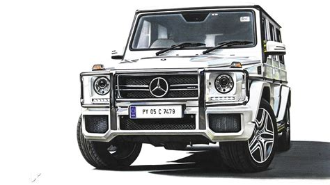 G Wagon Sketches by Mercedes G63 Amg Drawing