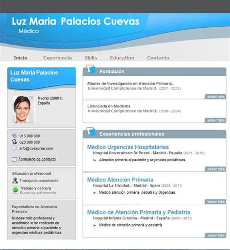 Plantilla De Curriculum Vitae De Profesores Plantillas De Curriculum Para Profesores Y Maestras Cvexpres