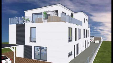 dachterrasse auf flachdach bauen wolf haus geplant emi support penthouse dachterrasse