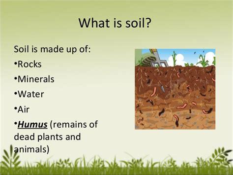 soil composition lessons tes teach