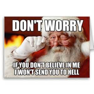 Funny Meme Cards - funny santa meme christmas cards funny and offensive