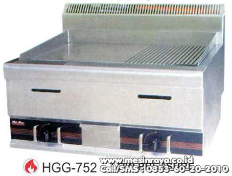 jual alat panggang datar bergerigi gas gas half grooved griddle hgg 752 mesinraya co id