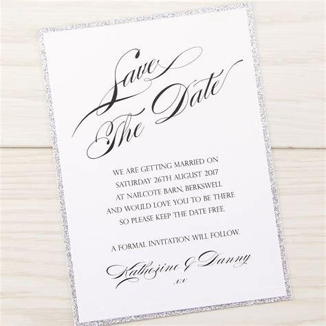 oscar save the date invitation wedding invites - Save The Date Wedding Invitations Sles