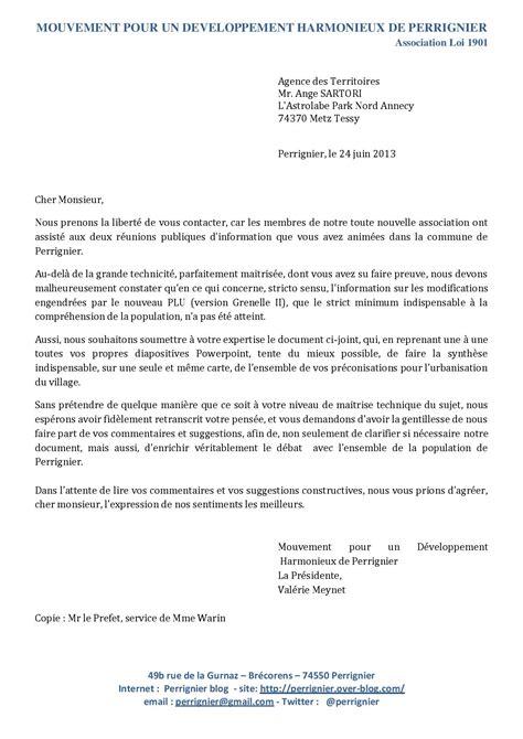 Exemple De Lettre A Qui De Droit Lettre 224 L Urbaniste Mr Ange Sartori Perrignier
