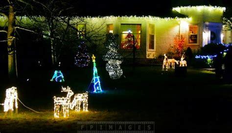 enjoy christmas lights holiday decorations at saint