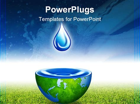 powerpoint templates water animated water drop powerpoint template images