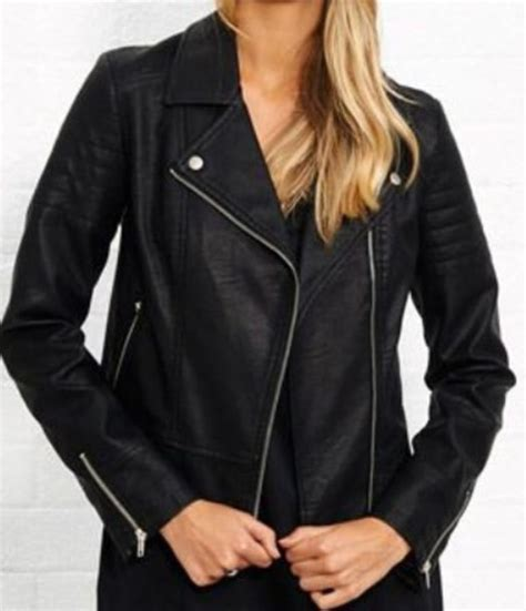 Leather Perth by Jacket Black Not Real Leather In Australia In Perth