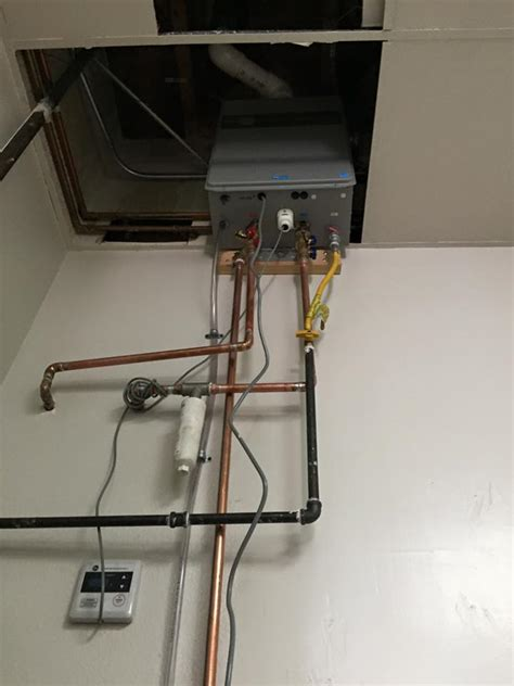 tankless water heaters service installation repair