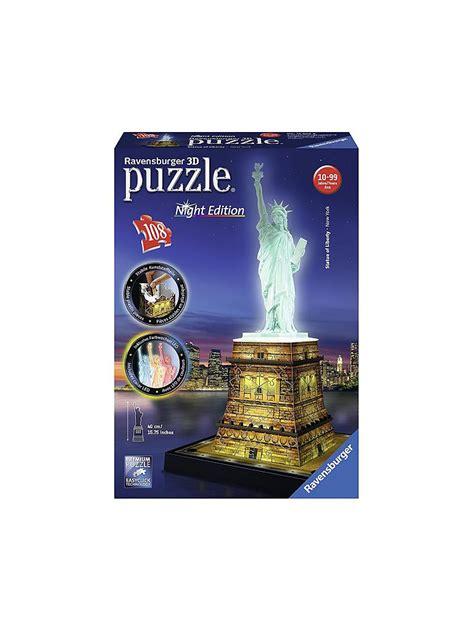 libro freiheitsstatue bei nacht puzzle ravensburger 3d puzzle freiheitsstatue bei nacht transparent