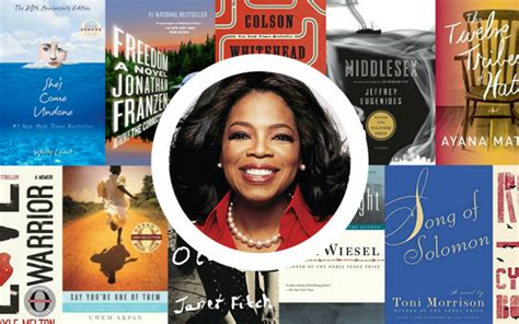 biography for book club recommendations the complete oprah s book club list