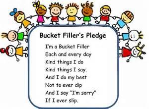 bucket filler s pledge mrs ledoux