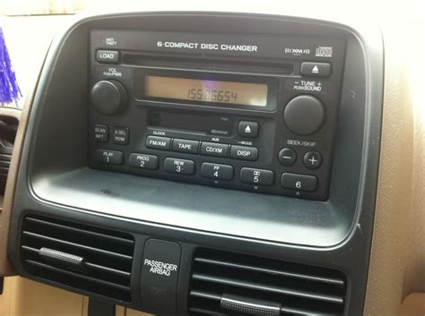 Honda Civic Radio Code by Radio Reset Code In 5 Minutes For A 2001 Honda Crv Cr V