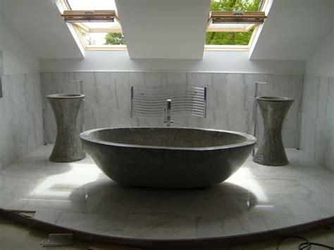 vasche in pietra vasche in pietra mix di tradizione e innovazione bagno