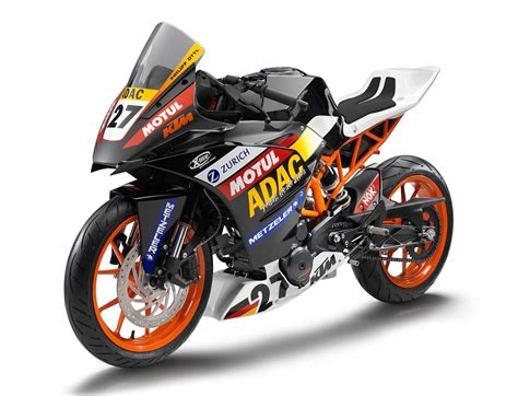 Ktm Sports Bikes Ktm Announces Rc390 Sportbike Coming To America