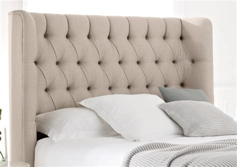 King Fabric Headboards by Knightsbridge Upholstered Divan Base And Headboard
