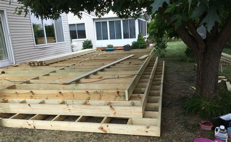 Patio Joist Framing A Deck Joists Pictures To Pin On Pinsdaddy