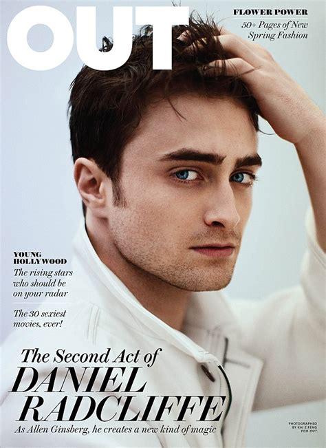 Grungy Potter Daniel Radcliff On The Cover Of Details Magazine by Daniel Radcliffe Sulla Cover Di Out Spetteguless