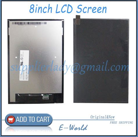 Lcd Lenovo A5500 Original original and new 8inch lcd display screen panel claa080wq05 xn v repair parts replacement for