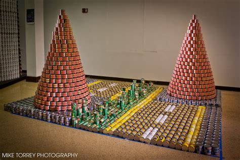 Canned Food Sculpture Ideas by Best Out Of Waste Ideas For Competitions Images