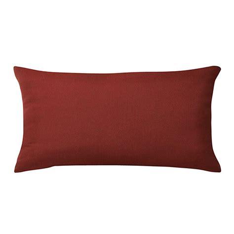Sunbrella Lumbar Pillows by Home Decorators Collection Sunbrella Canvas Henna Standard