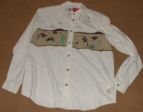 Wst 13934 Openwork Top White Size M western shirts vests page 6
