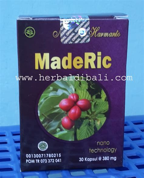 Obat Herbal Maderic jual maderic obat asam urat rematik di denpasar bali