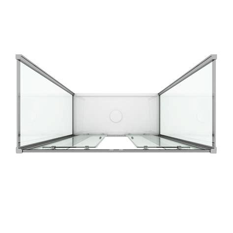 box doccia tre pareti box cabina doccia a tre 3 lati 2 ante vetro apertura