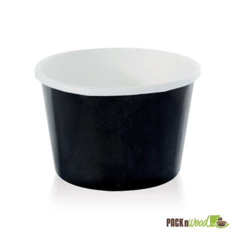 noir black paper cup 9 5 oz packnwood