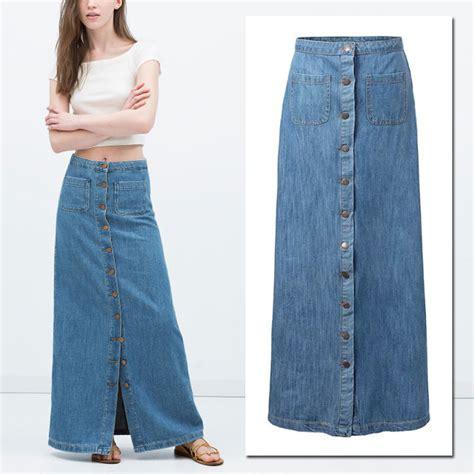 fotos de faldas largas 2016 faldas de moda