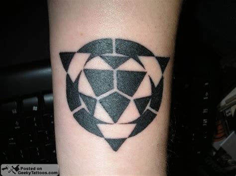 hacker tattoo dice to your dome geeky tattoos