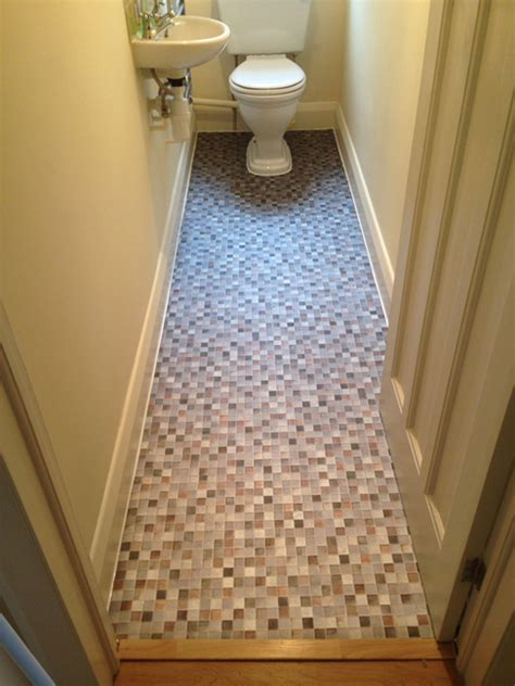 installing linoleum flooring in bathroom install sheet vinyl flooring bathroom
