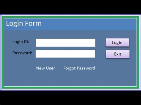 creating asp net login page create a login website login page validating user and