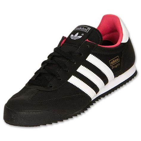 s adidas casual shoes finishline black running white blaze pink for fall