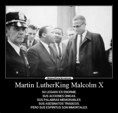 Malcolm X Memes - martin lutherking malcolm x desmotivaciones