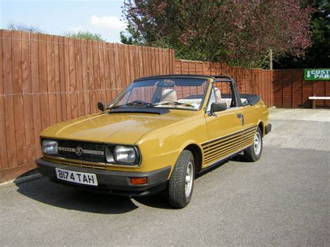 skoda rapid 120g coupe convertible reduced sold 1985