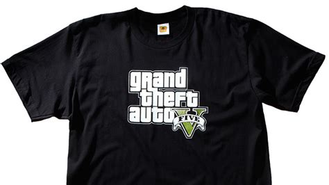 rockstar gta5 logo tshirt mens gta v t shirts at rockstar warehouse
