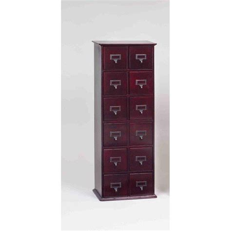 Cd Storage Cabinet Drawers by Library Cd Storage Cabinets 12 Drawer Ebay