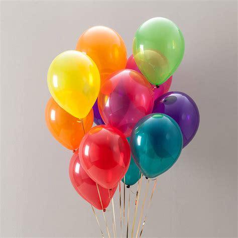 balloon set rainbow balloon pack by bubblegum balloons