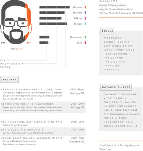 graphic design resume service