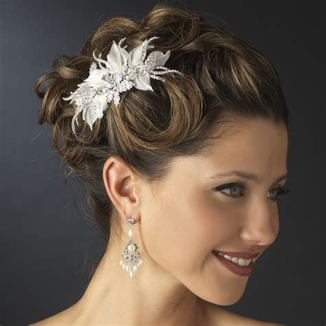 medium hair styles with barettes wedding hair clips for short hair