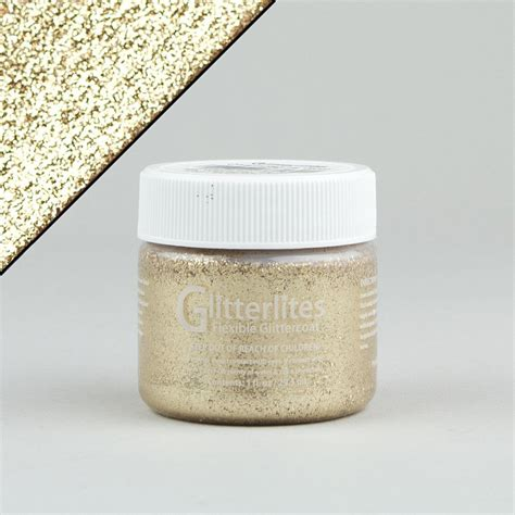 angelus paint glitter angelus glitterlites leather paint desert gold 1oz