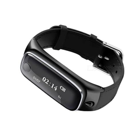 Samtao Smartwatch Headset Bluetooth M6 m6 smart bracelet w bluetooth headset for ios android black free shipping dealextreme