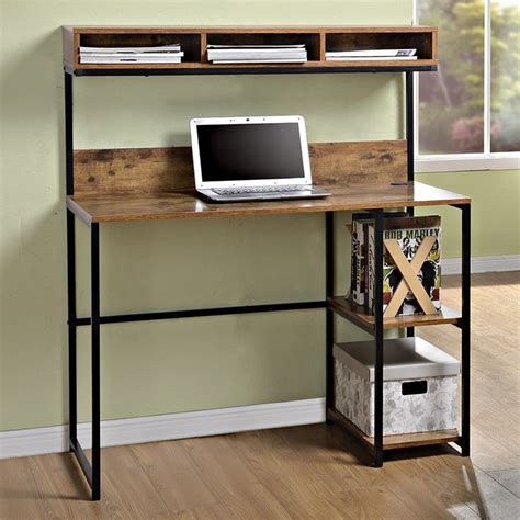 Computer Desk With Shelves Above Best 25 Shelves Above Desk Ideas On Desk Shelves Book Shelf Bench And