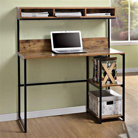 desk with shelves above best 25 shelves above desk ideas on desk