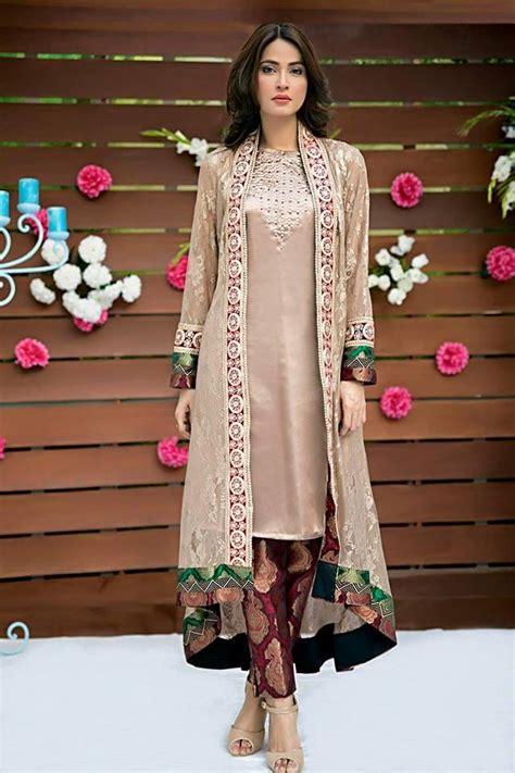 karachi pattern dress design coat style desi style pinterest pakistani dress
