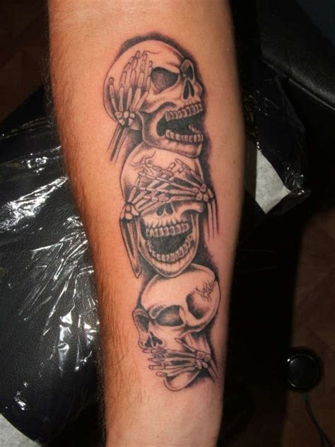 no evil tattoo designs evil tattoos hear see speak no evil artsy
