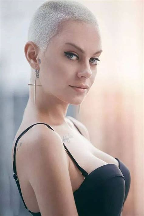 crew cut on women over 40 775 best buzz cuts for brave beautiful women images on