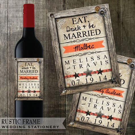 avery templates for wine labels rustic wedding wine bottle labels avery labels