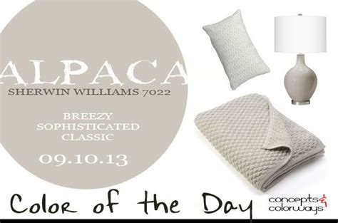 breezy sophisticated and classic how would you describe alpaca sw 7022 welcoming warm