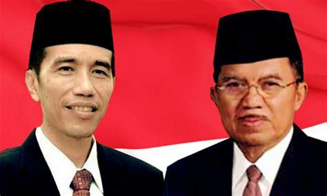 biodata presiden jokowi dan jusuf kalla inilah presiden ri 2014 2019 imam muhidin s